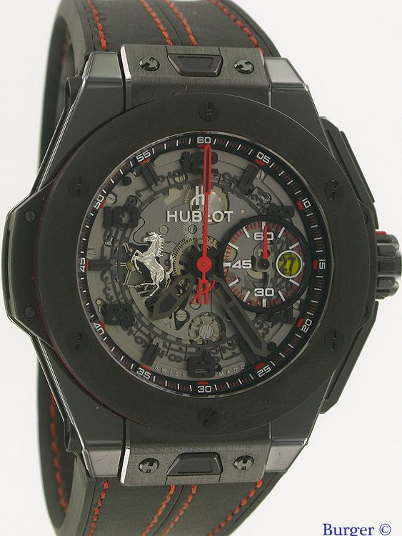Big Bang Ferrari Ceramic Limited Edition Hublot Verkaufte Uhren Juwelier Burger
