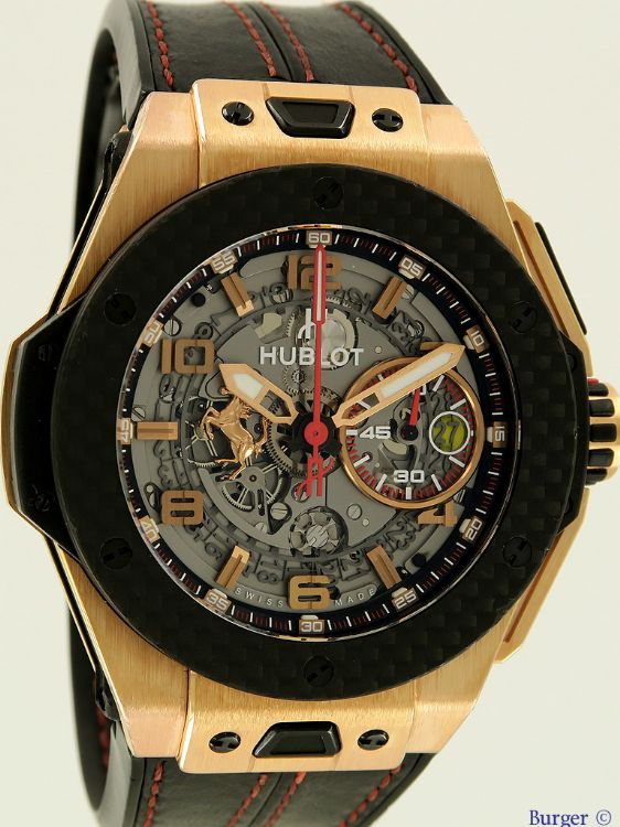 Big Bang Unico Ferrari Rose Gold Limited Edition Hublot Verkaufte Uhren Juwelier Burger