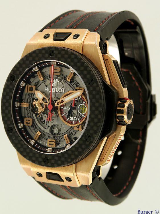 Big Bang Unico Ferrari Rose Gold Limited Edition Hublot Verkaufte Uhren Juwelier Burger