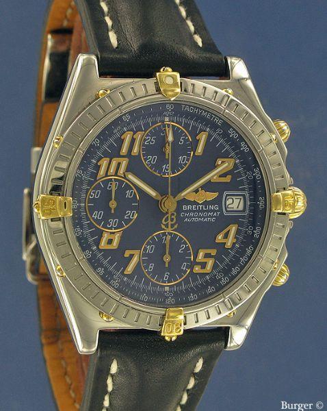 Chronomat Vitesse Gold Steel