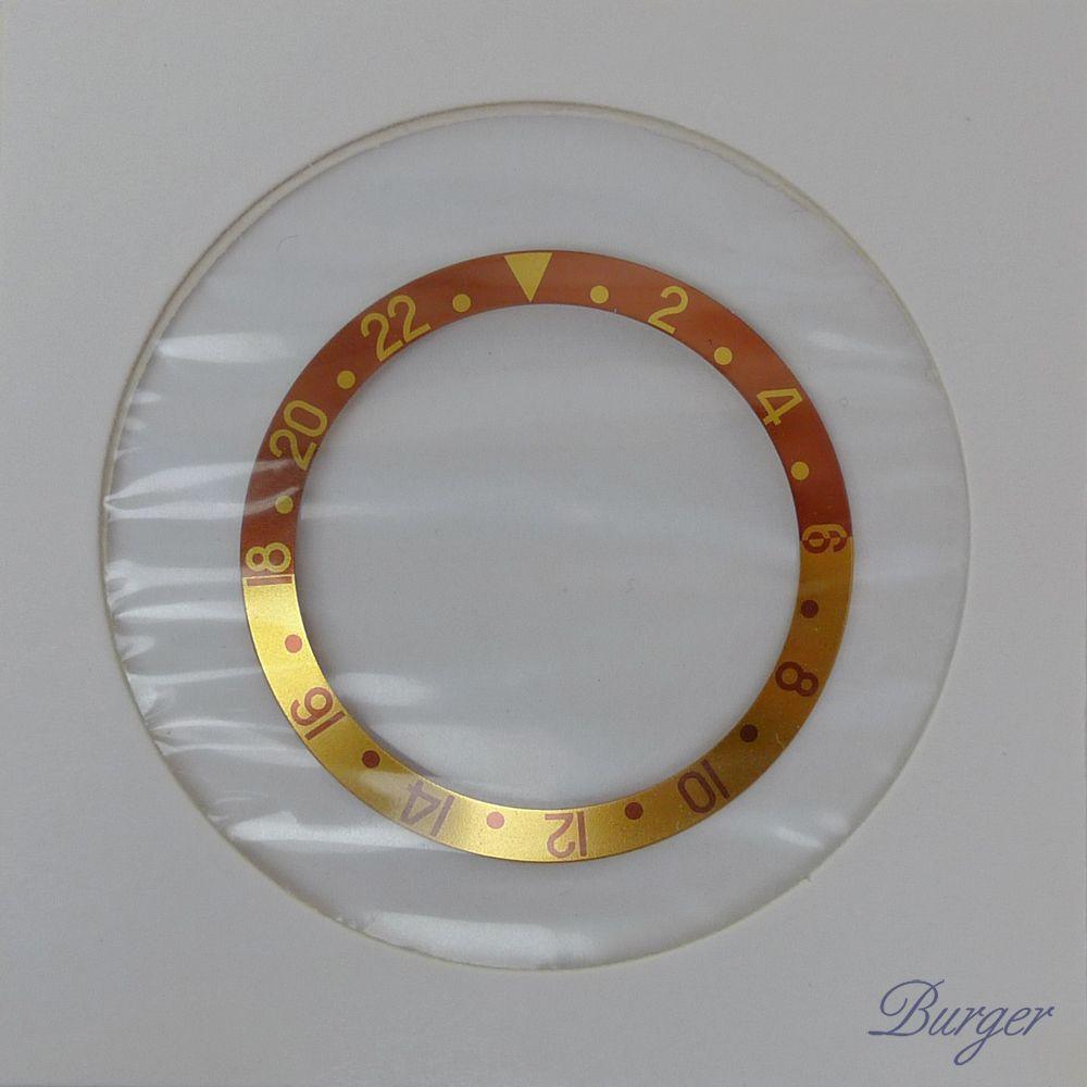 Rolex - GMT-Master Bezel Inlay 16713 Tiger Eye NEW!