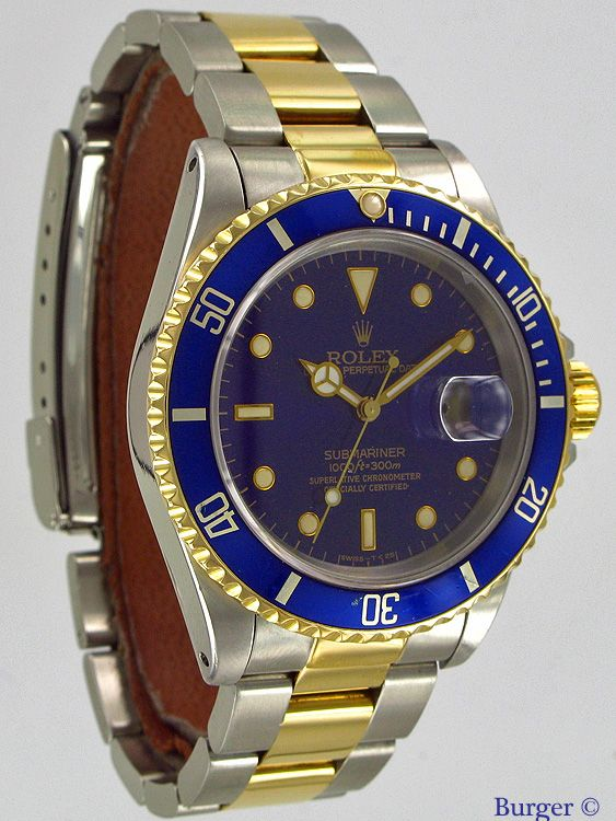 100% hoge kwaliteit goede verkoop mannen / man Submariner Date Gold/Steel