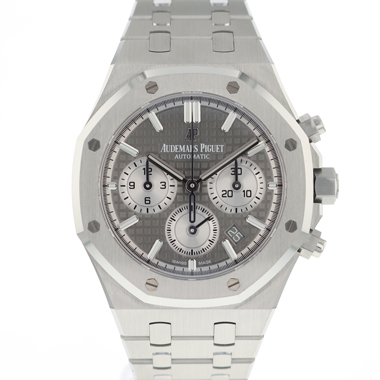 Audemars Piguet - Royal Oak Chronograph Grey Dial