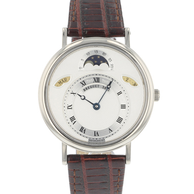 Breguet - Classique Day-Date Moonphase White Gold