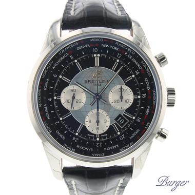 Breitling - Transocean Chronograph Unitime NEW!