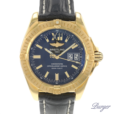 Breitling - Windrider Cockpit Yellow Gold limited Edition