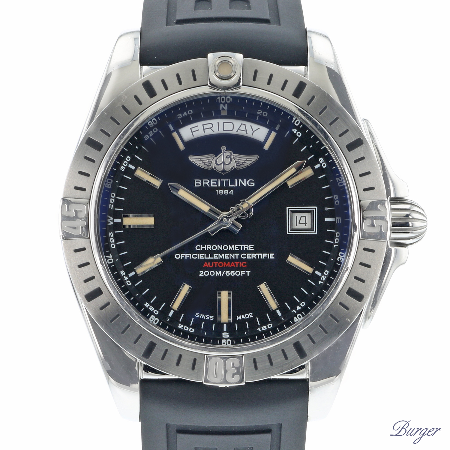 Breitling - Galactic Day Date 44 MM