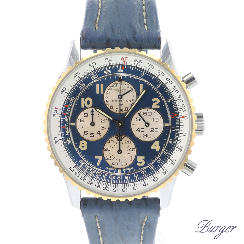 Breitling - Navitimer Airborne Gold/Steel Blue Dial