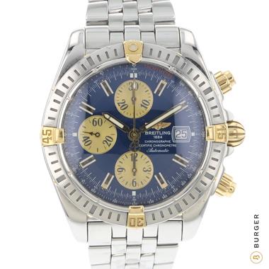 Breitling - Chronomat Evolution Gold/Steel Blue Dial