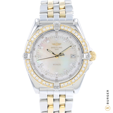 Breitling - Wings Lady Steel / Gold MOP Diamonds