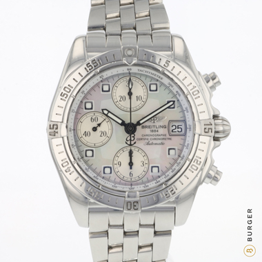 Breitling - Galactic Chronograph MOP Dial