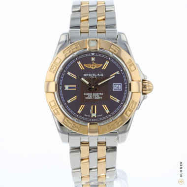 Breitling - Galactic 32 Steel / Rose Gold Choco Dial