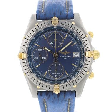 Breitling - Chronomat Gold/Steel Blue