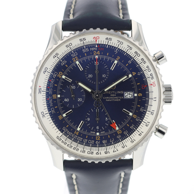 Breitling - Navitimer World Blue Dial