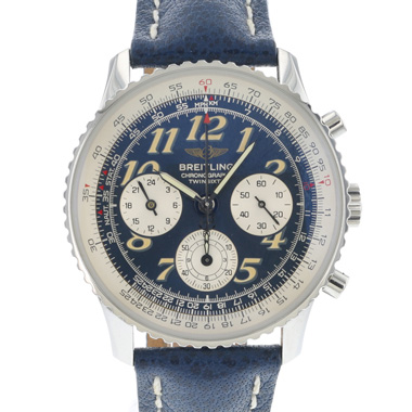Breitling - Navitimer Twin-Sixty Blue