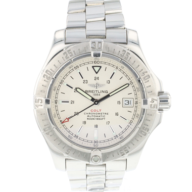 Breitling - Colt Automatic Silver Dial