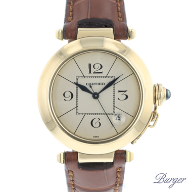 Cartier - Pasha 38mm Automatic Yellow Gold