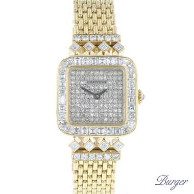 Cartier - Sonate 18K Yellow Gold Diamonds Special Order