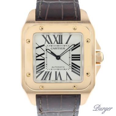 Cartier - Santos 100 Rose Gold