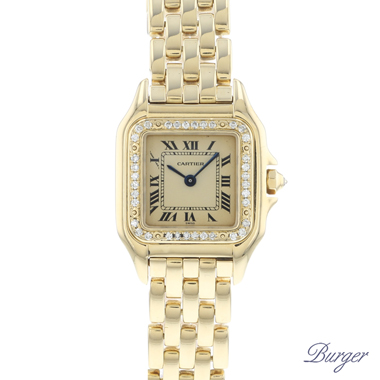 Cartier - Panthere PM Yellow Gold Diamonds