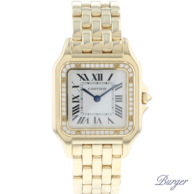 Cartier - Panthere MM Yellow Gold Diamonds