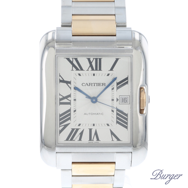 Cartier - Tank Anglaise XL Rose Gold/Steel
