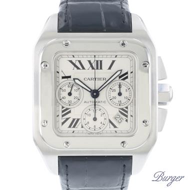 Cartier - Santos 100 Chrono