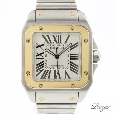 Cartier - Santos 100 XL Gold/Steel