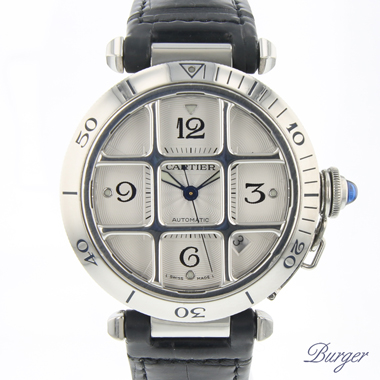 Cartier - Pasha 38mm Grill  Automatic