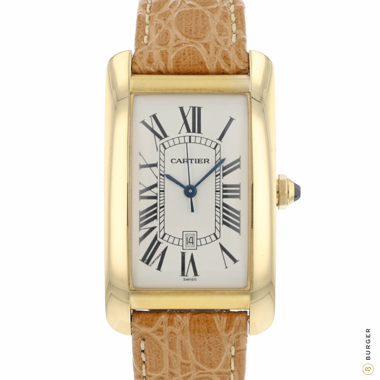 Cartier - Tank Americaine GM Yellow Gold