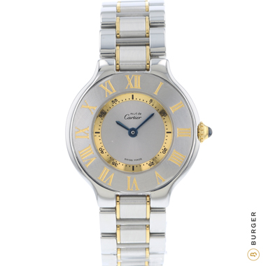 Cartier - Must 21 Gold/Steel