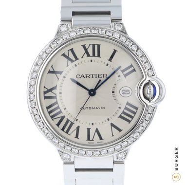 Cartier - Ballon Bleu Automatic Diamonds