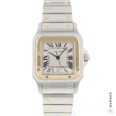 Cartier - Santos Galbee GM Gold/Steel