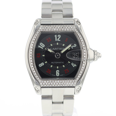Cartier - Roadster Automatic Diamonds