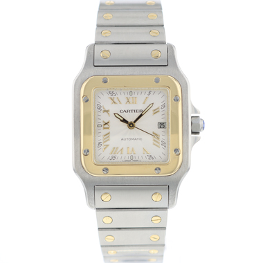 Cartier - Santos Galbee GM Steel / Gold  Automatic