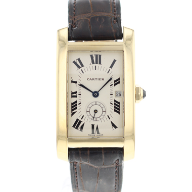 Cartier - Tank Americaine Yellow Gold