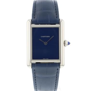 Cartier - Tank Must Blue NEW