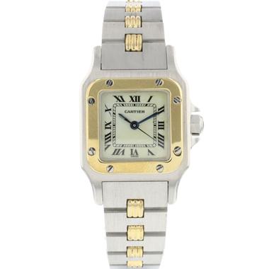 Cartier - Santos Galbee Steel/Gold Lady