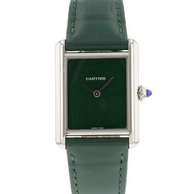 Cartier - Tank Must Green NEW