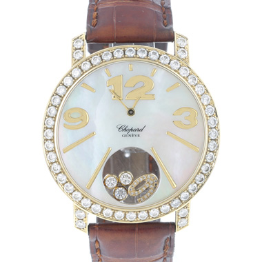 Chopard - Happy Diamonds Happy Time Yellow Gold