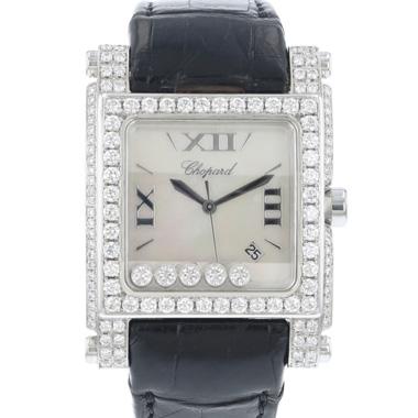 Chopard - Happy Sport Square XL MOP Diamonds