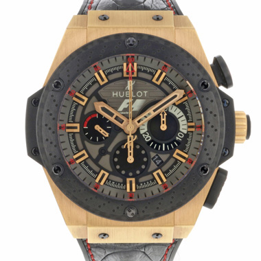 Hublot - King Power Rose Gold F1 Great Britain Limited Edition