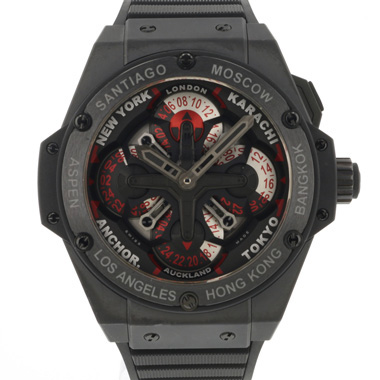 Hublot - Big Bang King Power Unico GMT Black Ceramic