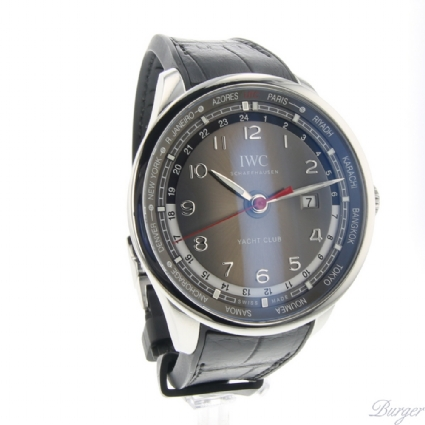 competitive price e4238 3cc8d Portugieser Yacht Club Worldtimer