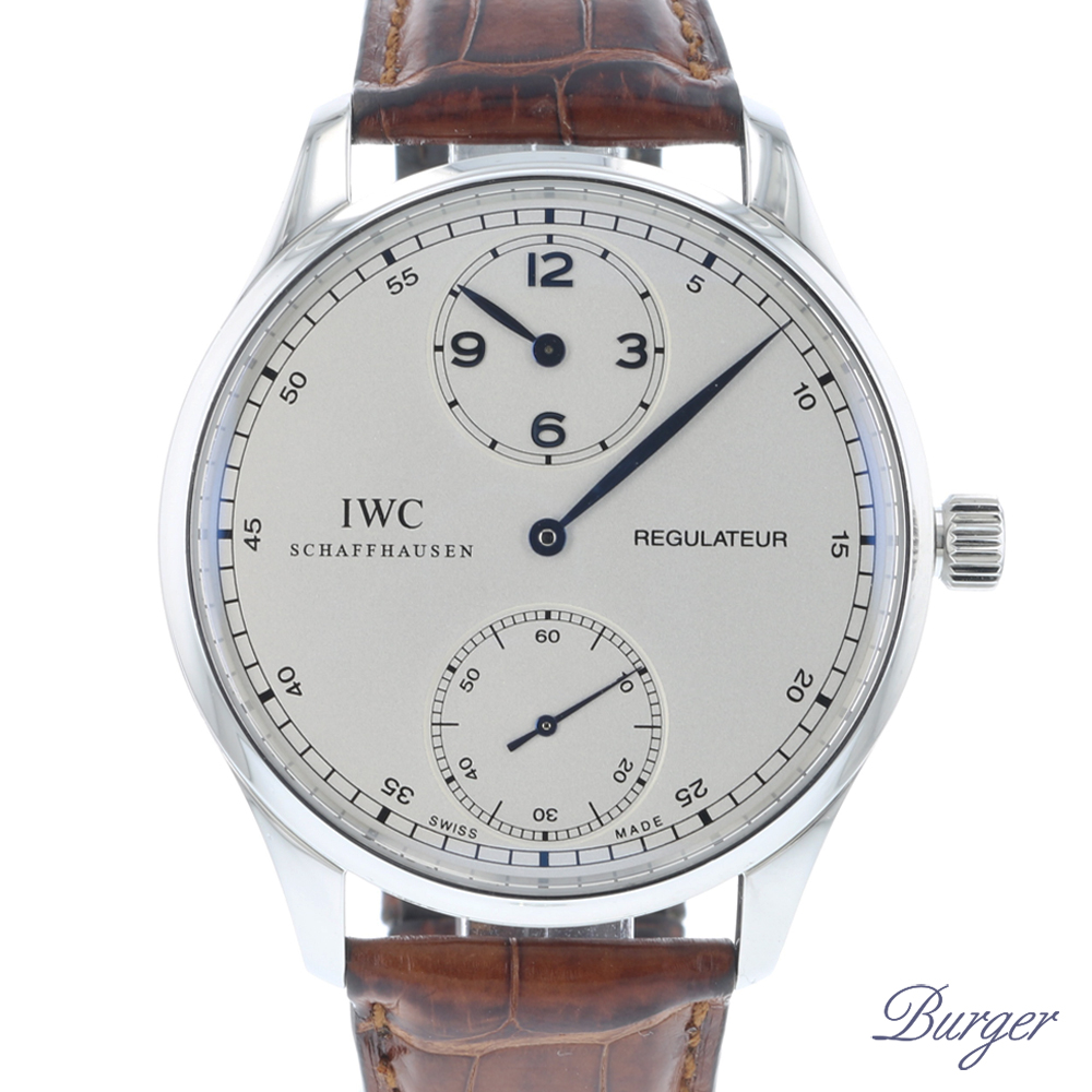 Portugieser Regulateur - IWC - Sold watches - Juwelier Burger
