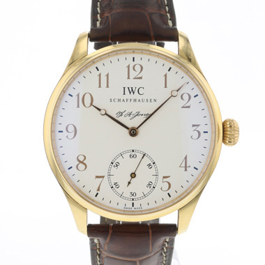 IWC - Portugieser F.A. Jones Rose Gold Limited Edition