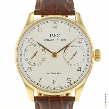 IWC - Portugieser 7- Days Rose Gold