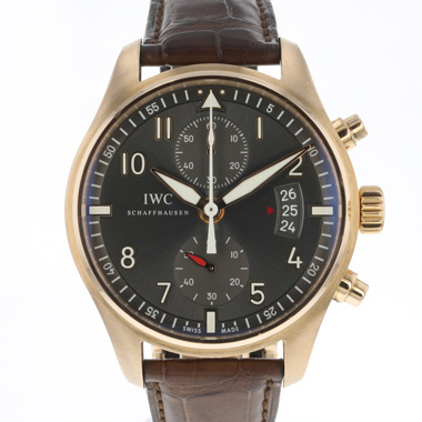 IWC - Spitfire Chronograph Rose Gold With Folding Clasp