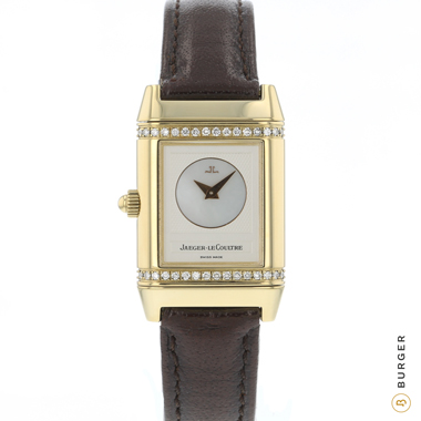 Jaeger LeCoultre - Reverso Duetto Yellow Gold with Diamonds