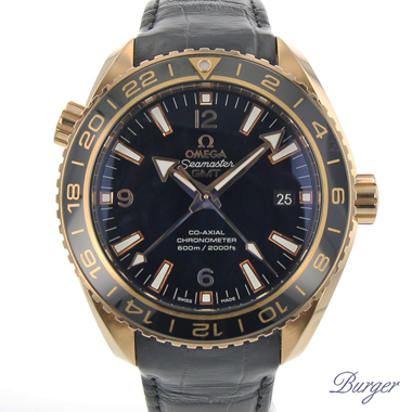 Omega - Seamaster Planet Ocean 600m Co-axial GMT Rose Gold